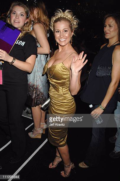 Kellie Pickler during 2007 CMT Music Awards Backstage and Audience at The Curb Event Center at Belmont University in Nashville Tennessee United States