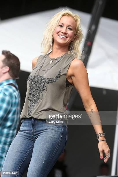 Kellie Pickler performs in concert during RedFest at the Austin360 Amphitheater on May 25, 2014 in Austin, Texas.