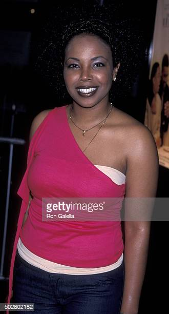 Kellie Shanygne Williams attends the premiere of The Brothers on March 21 2001 at Loew's Century Plaza Theater in Century City California
