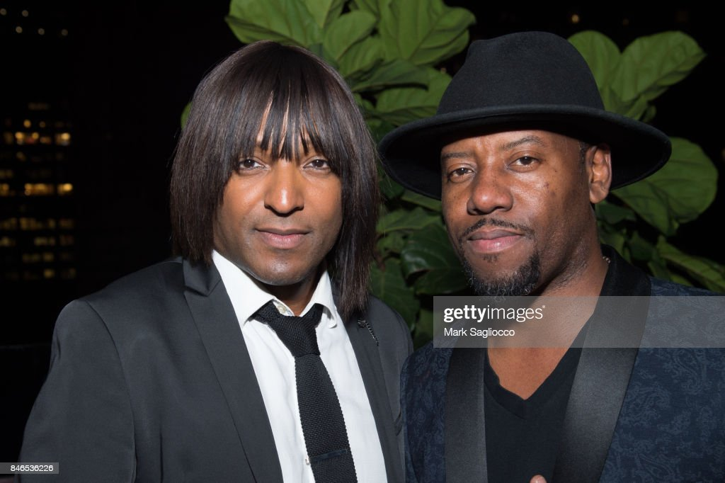 Kellindo and Anthony Marshall attend Hamptons Magazine's Celebration with Cover Star Maria Sharapova at PHD Terrace at Dream Midtown on September 12, 2017 in New York City.