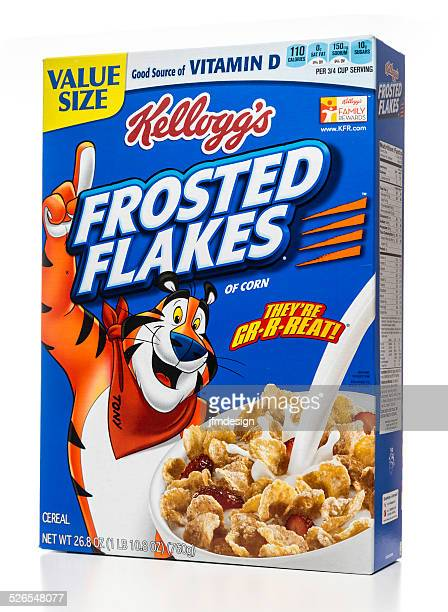 Kellogg's Frosted Flakes of corn value size packaging