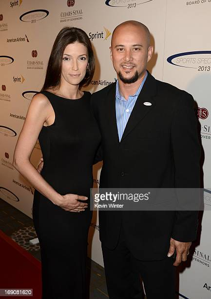 Kelly A Wolfe and Cris Judd attends the 28th Anniversary Sports Spectacular Gala at the Hyatt Regency Century Plaza on May 19 2013 in Century City...