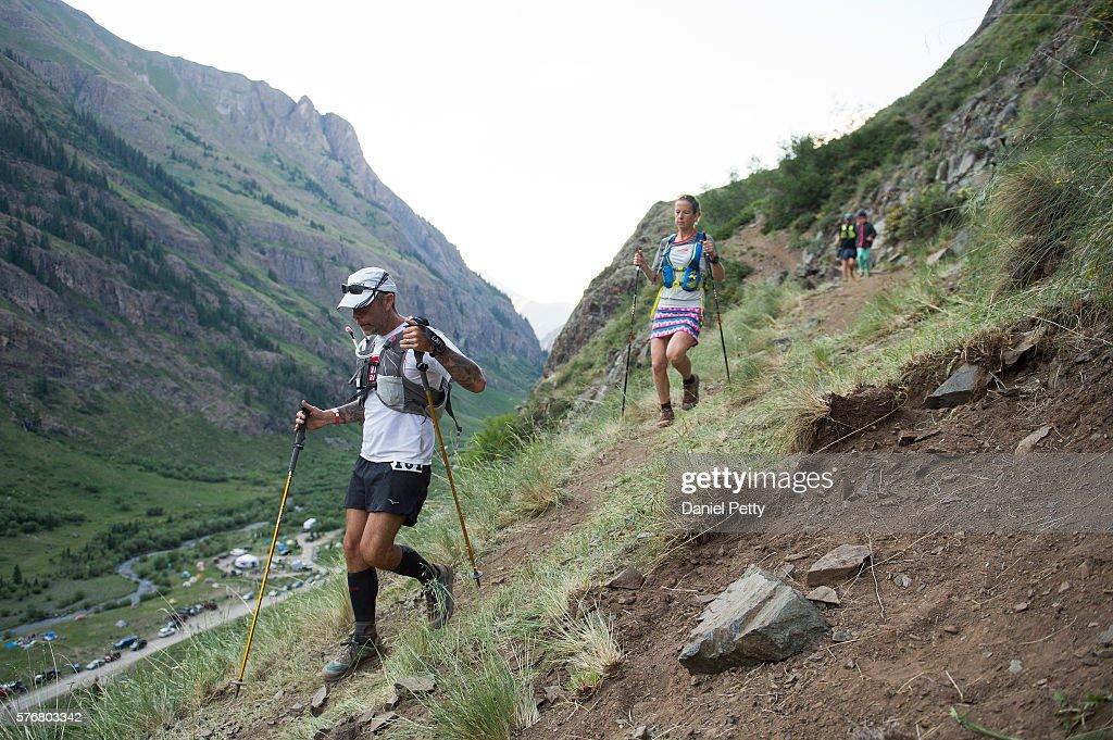 Hardrock 100 Ultra Marathon 2016 : News Photo