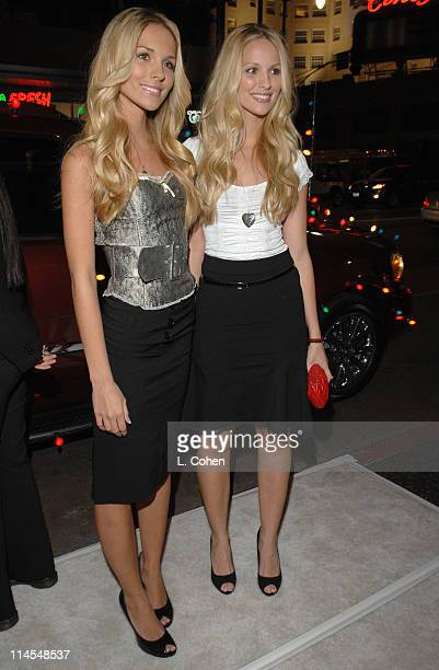 Kelly Aldridge and Sabrina Aldridge during Deck the Halls Los Angeles Premiere Red Carpet at Grauman's Chinese Theater in Hollywood California United...