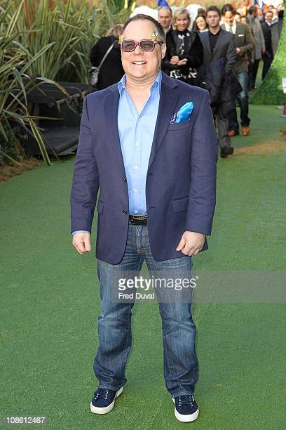 Kelly Asbury attends the UK premiere of 'Gnomeo Juliet' at Odeon Leicester Square on January 30 2011 in London England