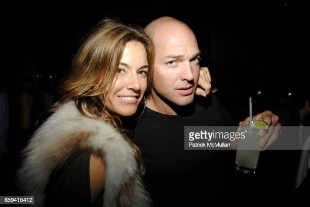 Kelly Bensimon and Alex von Furstenberg attend Andre Balazs's Preview of The Boom Boom Room at The Standard on September 12 2009 in New York City