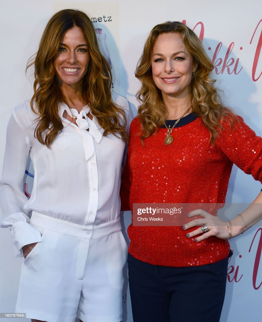 Kelly Bensimon and guest attend the Original Scent launch at Nikki West Boutique on March 14, 2013 in Pasadena, California.