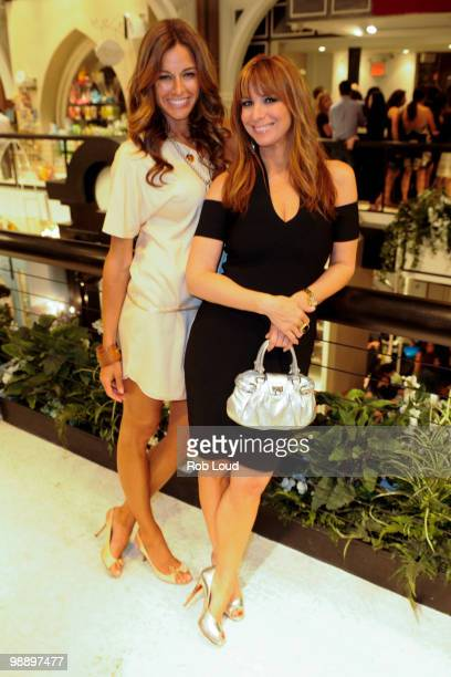 Kelly Bensimon and Jill Zarin shop at the opening cocktail party for the Limelight Marketplace on May 6 2010 in New York City