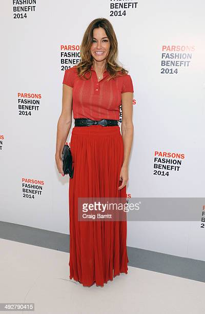 Kelly Bensimon attends 2014 Parsons Fashion Benefit at The New School University Center on May 21 2014 in New York City