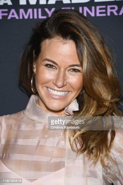 Kelly Bensimon attends a screening for Tyler Perry's A Madea Family Funeral at SVA Theater on February 25 2019 in New York City