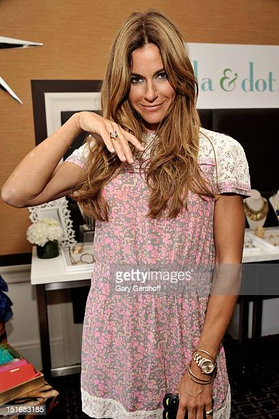 Kelly Bensimon attends Get Glam A Fashion Week Lounge event at The Empire Hotel on September 9 2012 in New York City