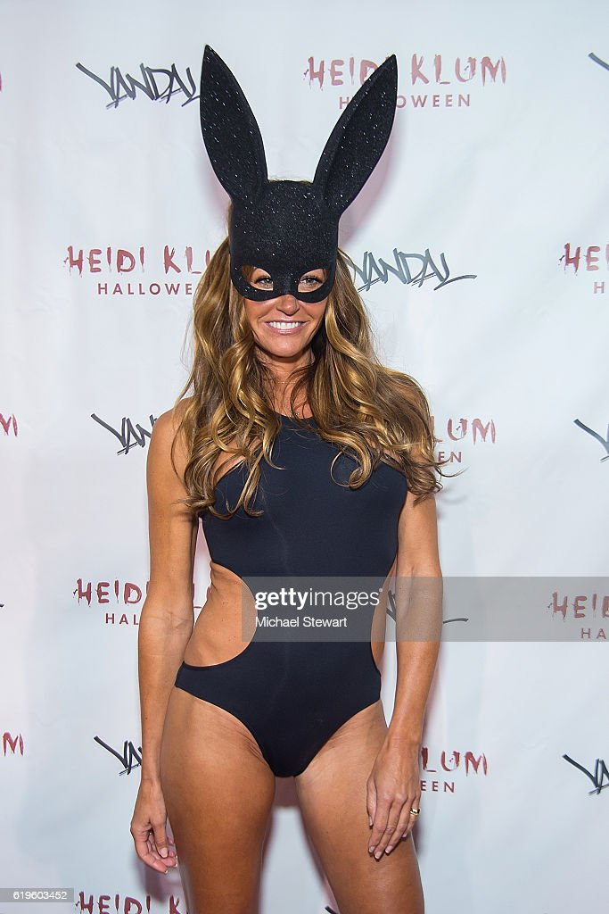 Kelly Bensimon attends Heidi Klum's 17th Annual Halloween party at Vandal on October 31, 2016 in New York City.
