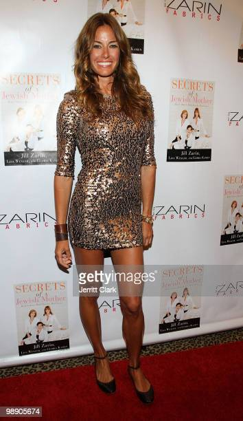 Kelly Bensimon attends Jill Zarin's Secrets Of A Jewish Mother book launch party at Zarin Fabrics on April 13 2010 in New York City