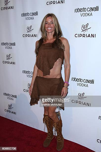 Kelly Bensimon attends ROBERTO and EVA CAVALLI and GIUSEPPE CIPRIANI Along With ROBERTO CAVALLI VODKA Host a Halloween Party at CIPRIANI 42nd St at...