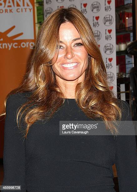 Kelly Bensimon attends Shop 'Til You Drop For Go Orange To End Hunger Benefit at Henri Bendel Boutique on September 23 2014 in New York City