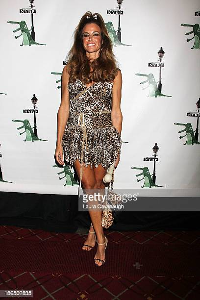 Kelly Bensimon attends the 18th annual Hulaween In The Big Easy Event at The Waldorf=Astoria on October 31 2013 in New York City