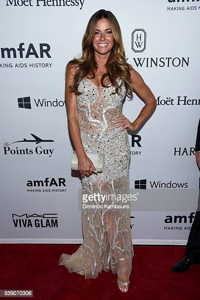 Kelly Bensimon attends the 7th Annual amfAR Inspiration Gala at Skylight at Moynihan Station on June 9 2016 in New York City
