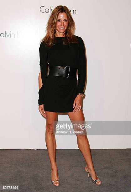 Kelly Bensimon attends the Calvin Klein Inc 40th Anniversary Celebration at Along The Highline on September 7 2008 in New York City