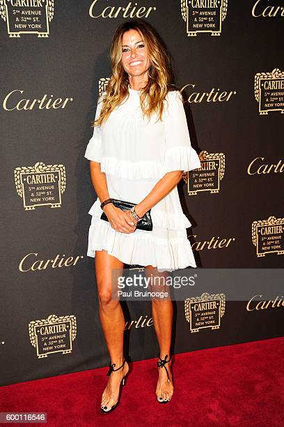 Kelly Bensimon attends the Cartier Fetes the Grand Opening of The Fifth Avenue Mansion at Cartier Mansion on SEPTEMBER 7 2016 in New York City