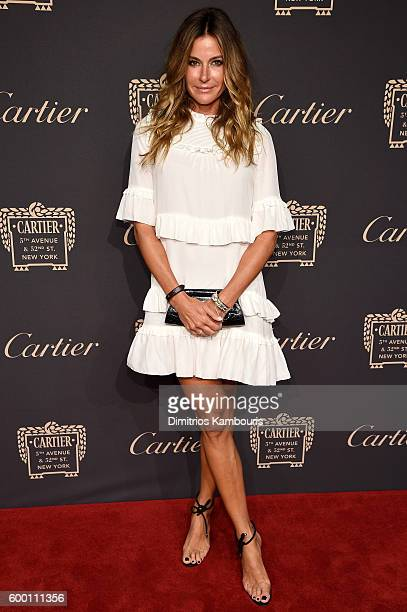 Kelly Bensimon attends the Cartier Fifth Avenue Grand Reopening Event at the Cartier Mansion on September 7 2016 in New York City