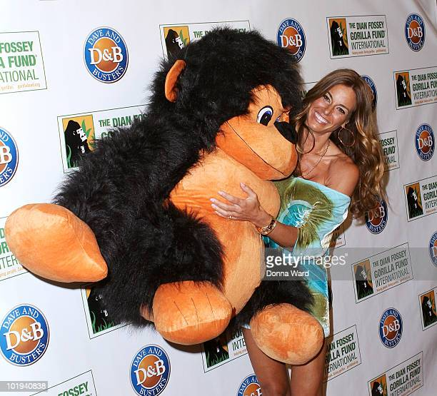 Kelly Bensimon attends the Celebrity Skee Ball Tournament benefiting the Dian Fossey Gorilla Fund International at Dave & Buster's Time Square on...