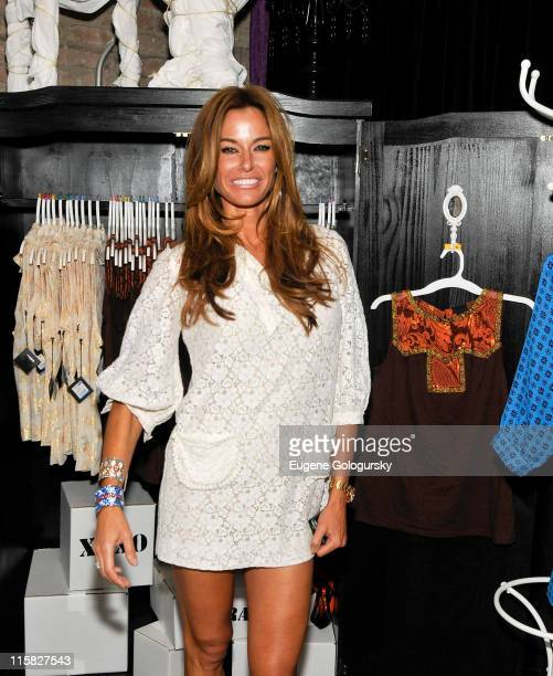 Kelly Bensimon attends the launch of the Anna Sui for Target PopUp store on September 9 2009 in New York City