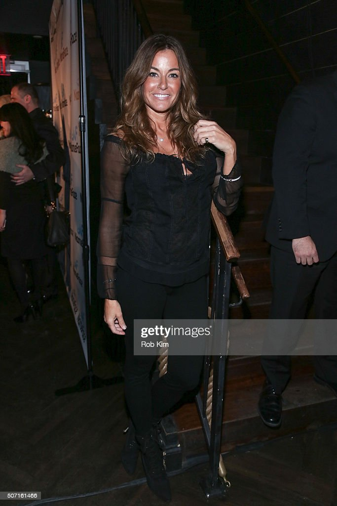 Kelly Bensimon attends the launch party for NameFace.com at No. 8 on January 27, 2016 in New York City.