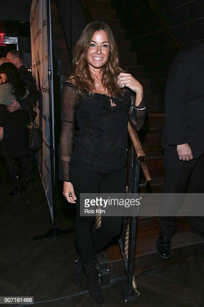Kelly Bensimon attends the launch party for NameFacecom at No 8 on January 27 2016 in New York City