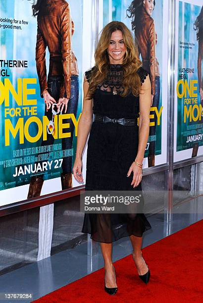 Kelly Bensimon attends the One for the Money premiere at the AMC Loews Lincoln Square on January 24 2012 in New York City