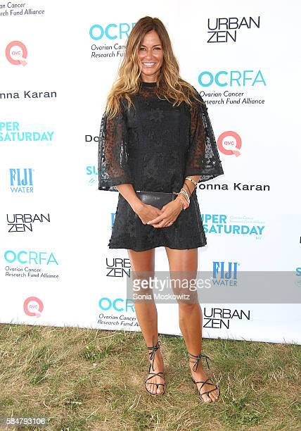 Kelly Bensimon attends the Ovarian Cancer Research Fund Alliance's Super Saturday NY at Nova's Ark Project on July 30 2016 in Water Mill New York