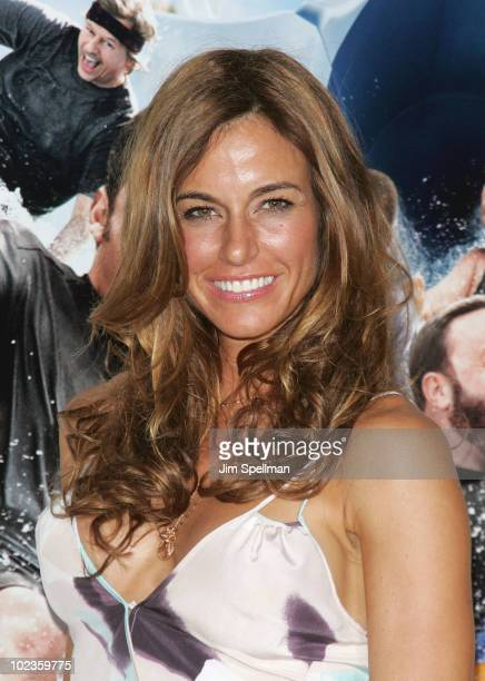 Kelly Bensimon attends the premiere of Grown Ups at the Ziegfeld Theatre on June 23 2010 in New York City