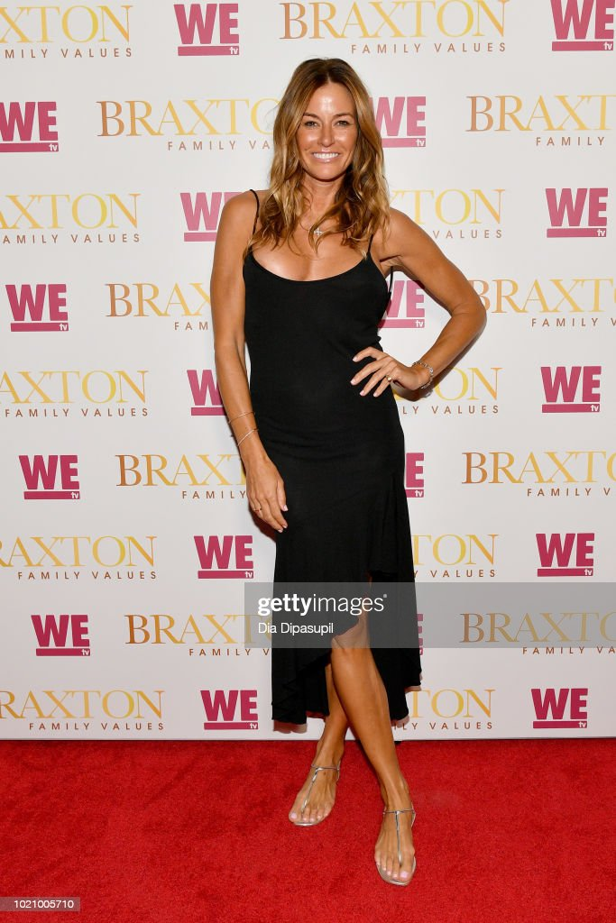 Kelly Bensimon attends WE tv and Traci Braxton celebrate the new season of Braxton Family Values at The Skylark on August 21, 2018 in New York City.