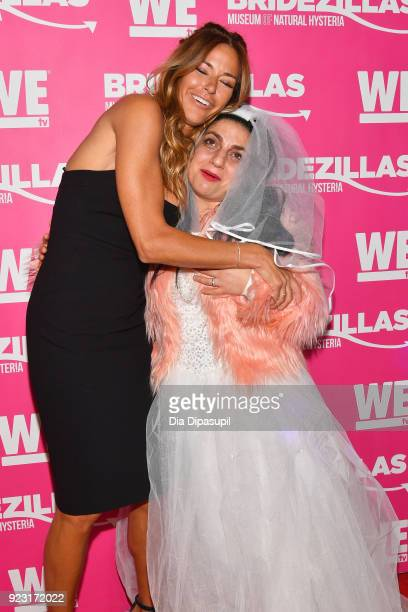 Kelly Bensimon attends WE tv Launches Bridezillas Museum Of Natural Hysteria on February 22 2018 in New York City