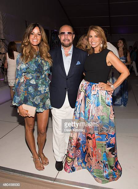Kelly Bensimon Bobby Zarin and Jill Zarin attend the Samuel Waxman Cancer Research Foundation 11th Annual A Hamptons Happening on July 11 2015 in...
