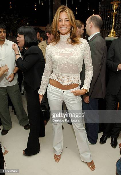 Kelly Bensimon during Opening of MR CHOW Tribeca at Mr Chow in New York City New York United States