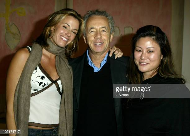Kelly Bensimon Gilles Bensimon and Anita Ko during Elle Magazine Party Sponsored by Motorola at the Gagosian Gallery at Gagosian Gallery in Beverly...