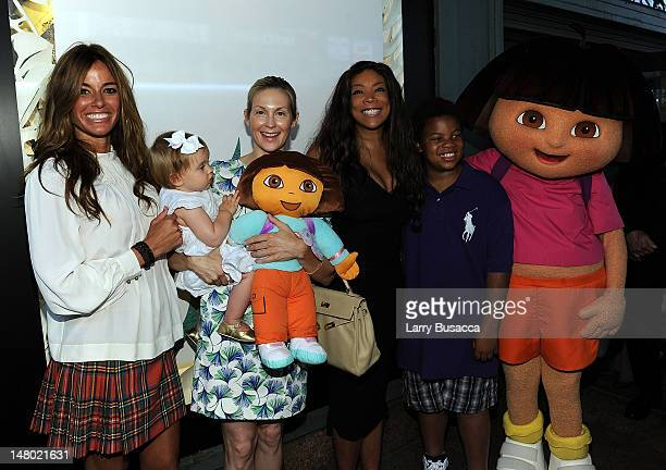 Kelly Bensimon Kelly Rutherford Wendy Williams Kevin Hunter and Dora the Explorer attend Nickelodeon's Beyond the Backpack Kicks off Auction of...