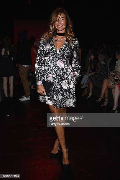 Kelly Bensimon seen around Skylight at Moynihan Station during Spring 2016 New York Fashion Week The Shows on September 14 2015 in New York City