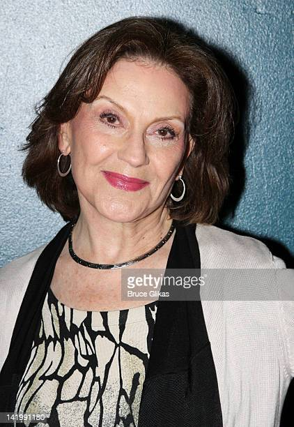 Kelly Bishop attends Regrets OffBroadway opening night arrivals at Manhattan Theater Club City Center Stage 1 on March 27 2012 in New York City