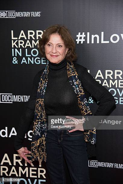 Kelly Bishop attends the Larry Kramer In Love And Anger New York Premiere at Time Warner Center on June 1 2015 in New York City