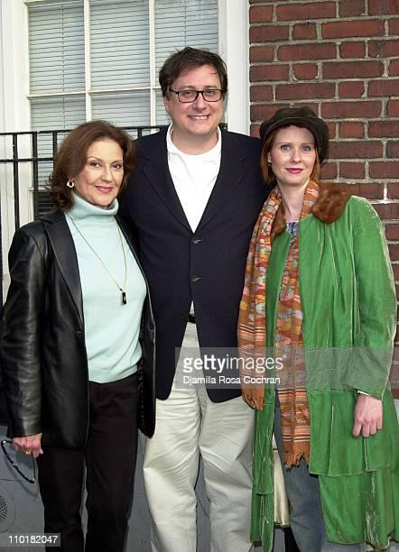 Kelly Bishop Douglas Carter Beane and Cynthia Nixon