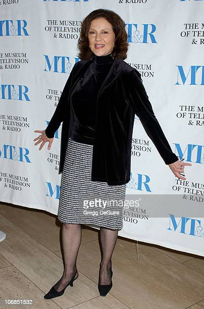 Kelly Bishop during Gilmore Girls 100th Episode Celebration Presented by The Museum of Television Radio at The Museum of Television Radio in Beverly...
