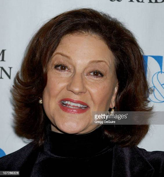 Kelly Bishop during 'Gilmore Girls' 100th Episode Celebration Presented by The Museum of Television Radio at The Museum of Television Radio in...