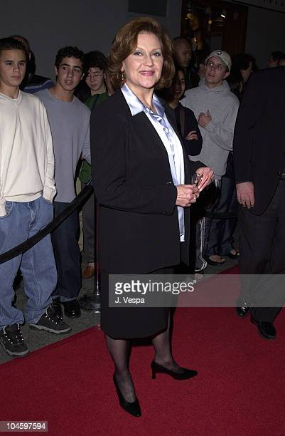 Kelly Bishop during WB Network All Star Party at Il Fornaio Restaurant in Pasadena California United States