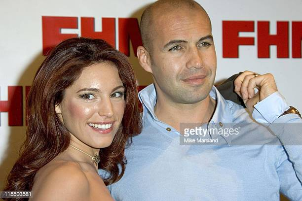 Kelly Brook and Billy Zane during 2005 FHM Sexiest Women Party at Umbaba in London Great Britain