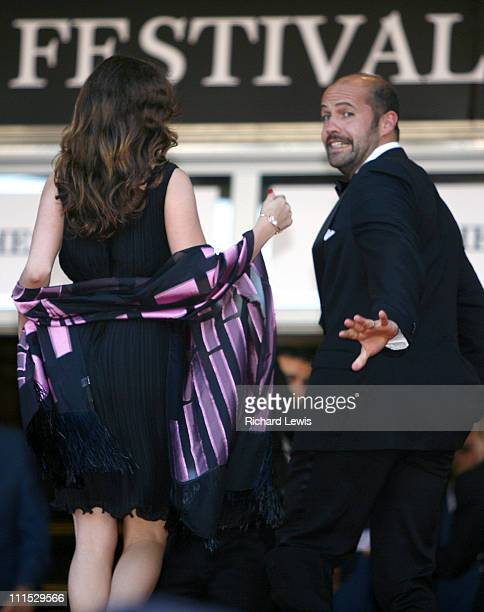 "Kelly Brook and Billy Zane during 2006 Cannes Film Festival - ""Marie Antoinette"" Premiere at Palais des Festival in Cannes, France."