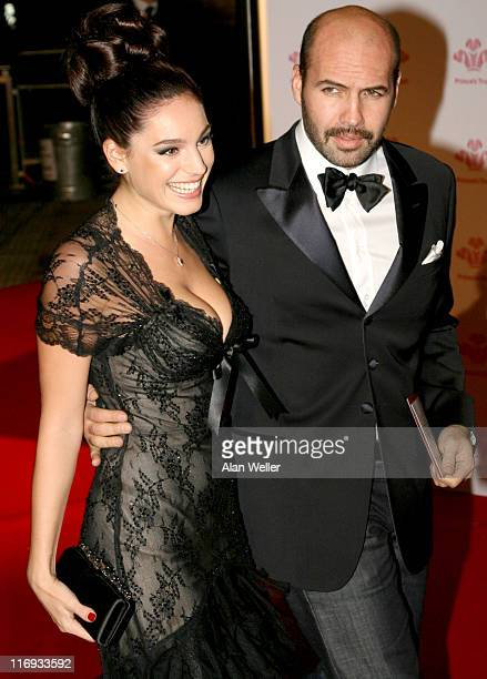 Kelly Brook and Billy Zane during The Prince's Trust Gala Dinner at The Roundhouse in London Great Britain