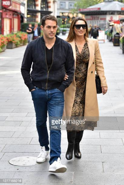 Kelly Brook and Jeremy Parisi sighting on September 28 2020 in London England