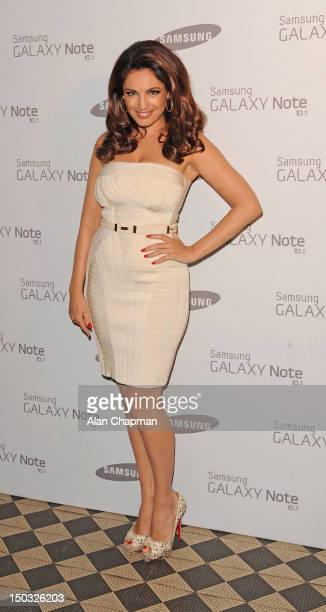 Kelly Brook arrives at One Mayfair on August 15 2012 in London England