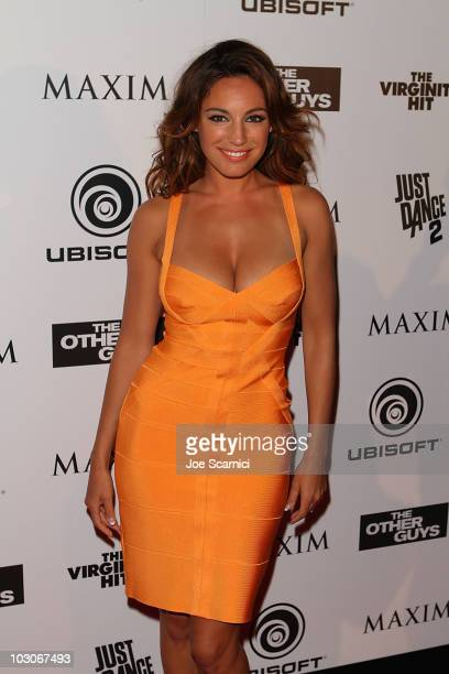 "Kelly Brook arrives at Sony's ""The Other Guys"" Maxim Party At Comic-Con at Solomar Hotel on July 23, 2010 in San Diego, California."